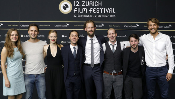 'Nirgendwo' Photocall - 12th Zurich Film Festival